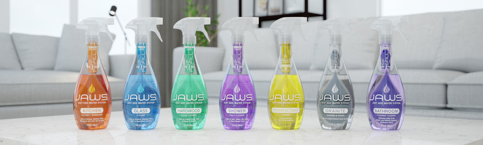 JAWS Eco-Friendly Cleaning Products