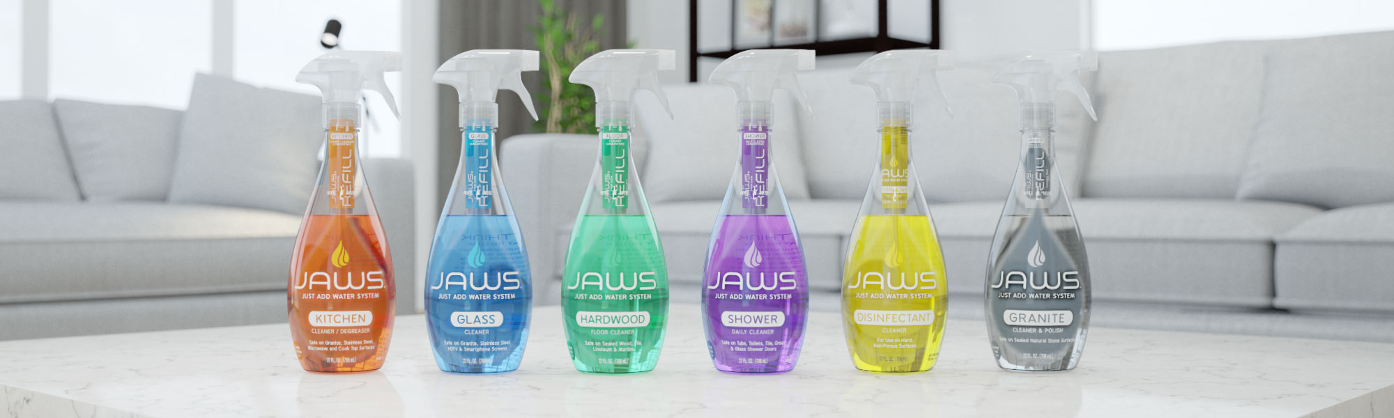 JAWS Refillable Cleaning Products | Eco Friendly and Non ...