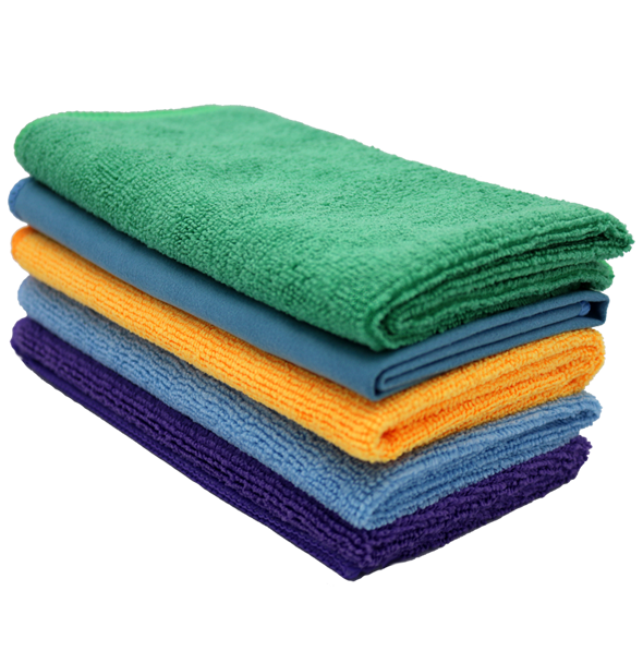 Microfiber Cloths (5-Pack)